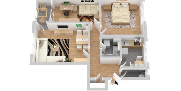 Wohnung Bogenhausen Grundriss