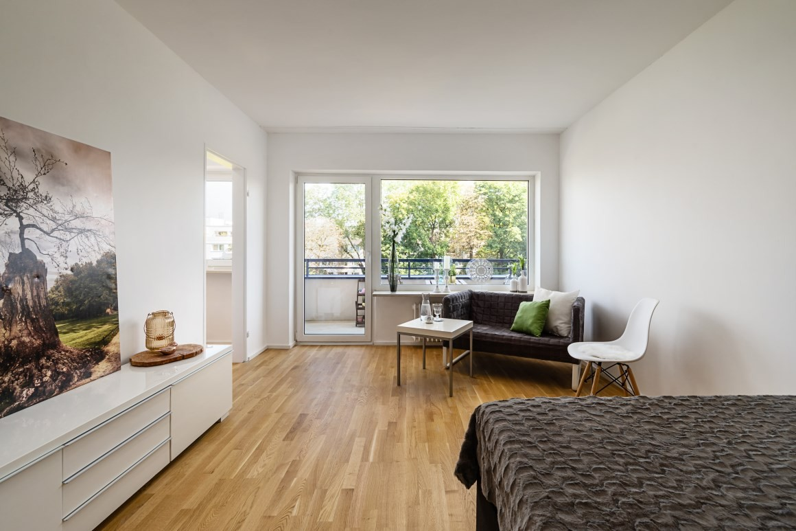 1 Zimmer Appartement am Westpark