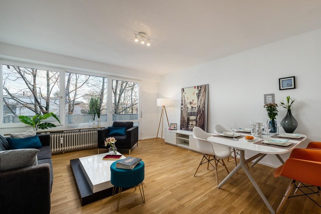 Moderne und gut geschnittene 2 Zimmer Wohnung in Moosach