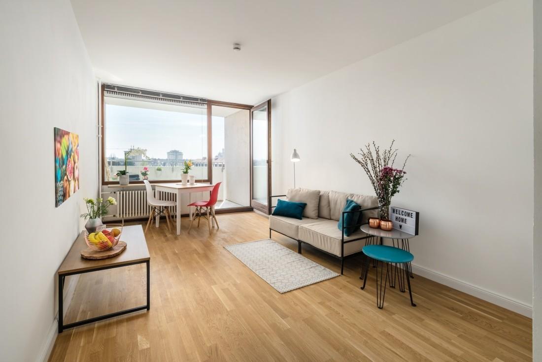 Apartment mit Alpenblick