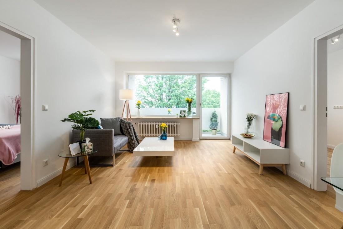 renovierte 2-Zimmer Wohnung in Moosach