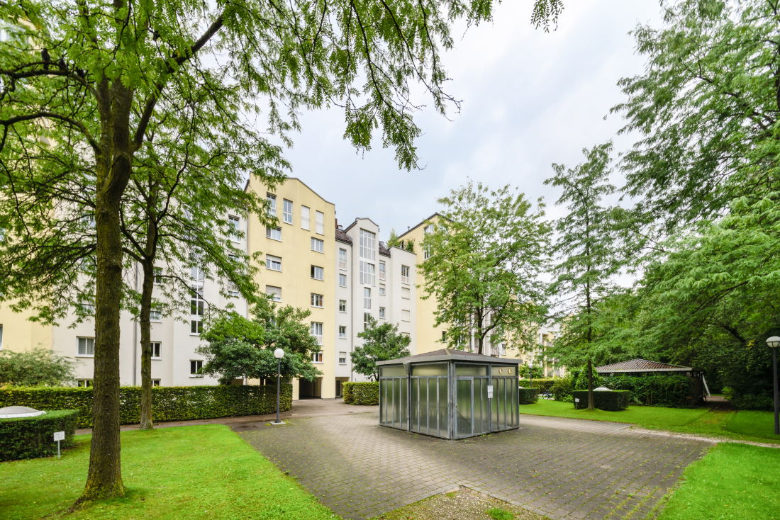4 Zimmer Terrassenwohnung in Schwabing