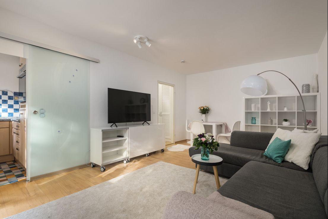 2 Zi – Apartment mit viel Charme und Gartenanteil