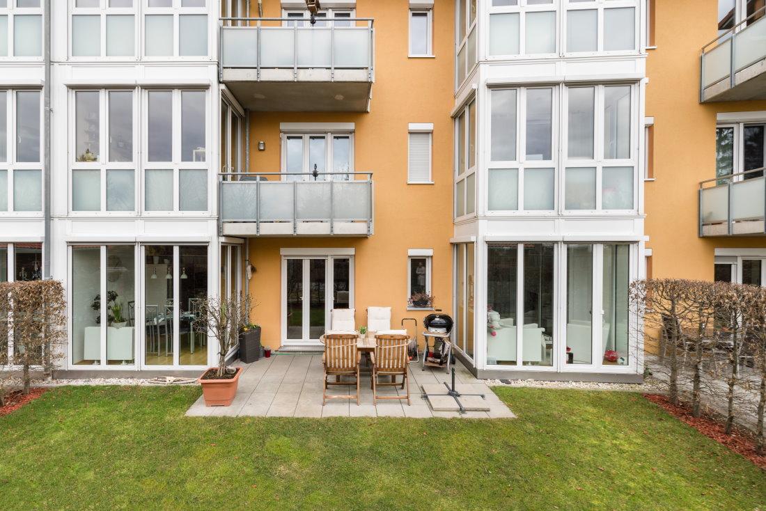 4 Zimmer Wohnung mit großem Gartenanteil
