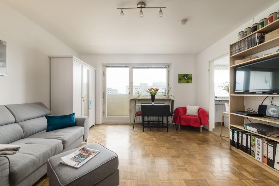 Apartment – frei, hell und Blick ins Grüne