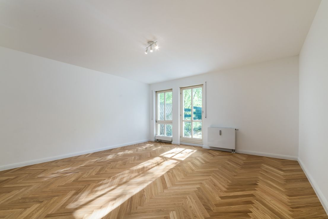 4 Zi-Gartenwohnung in Schwabing-West